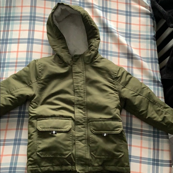 4t boys coat with inner puffer